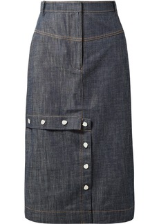 Tibi Jamie denim skirt