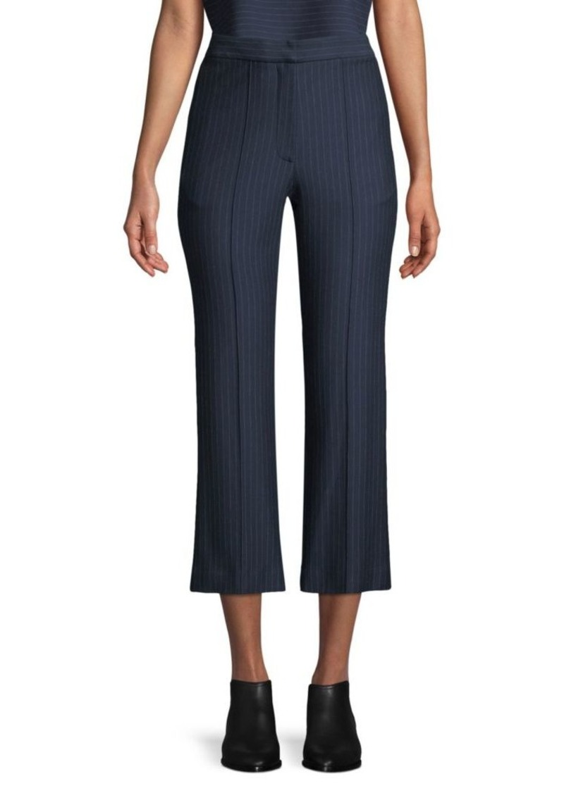 Tibi Jane Pinstripe Crop Pants