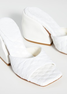 Tibi Kenji Quilted Sandals