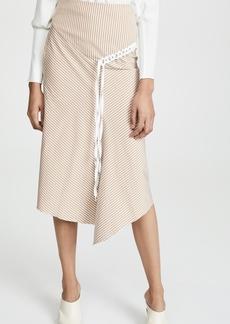 Tibi Lanyard Skirt