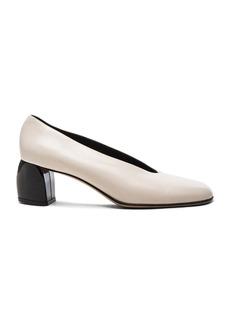 Tibi Leather Gene Heels