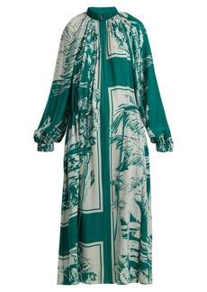 Tibi Leilani oversized silk dress