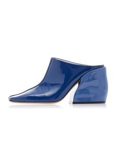 Tibi Leon Patent Leather Mules