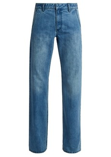 Tibi Low-rise straight-leg jeans