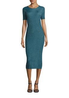 Tibi Metallic Viscose Dress