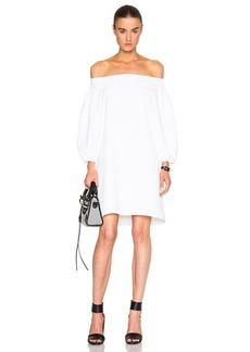 Tibi Midi Off Shoulder Dress