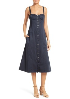 Tibi Mila Midi Dress
