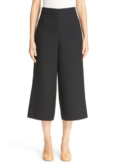 Tibi Nerd High Waist Crop Pants