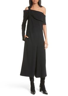 Tibi Off the Shoulder Crop Jumpsuit