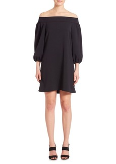 Tibi Off-The-Shoulder Dress
