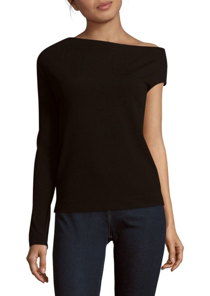Tibi One Shoulder Blouse