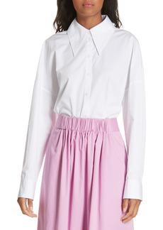 Tibi Oversize Poplin Shirt