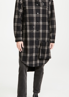 Tibi Oversized Shirt Coat