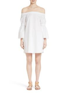 Tibi Poplin Shift Dress