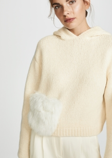 Tibi Pouch Pocket Hoodie