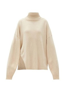 Tibi Recycled cashmere-blend sweater cape