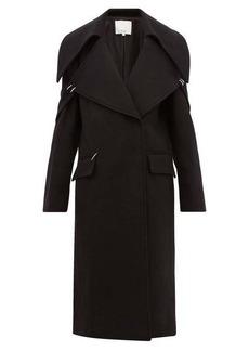 Tibi Recycled wool-blend coat