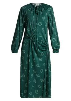 Tibi Remy jersey midi dress