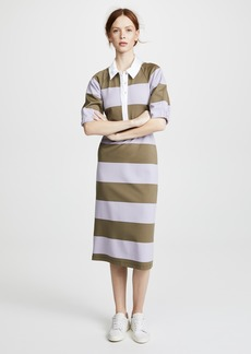 Tibi Rugby Long Dress