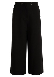 Tibi Sailor Nerd wide-leg culottes