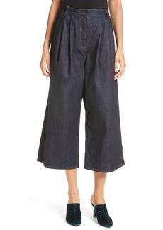 Tibi Sam High Waist Culotte Jeans