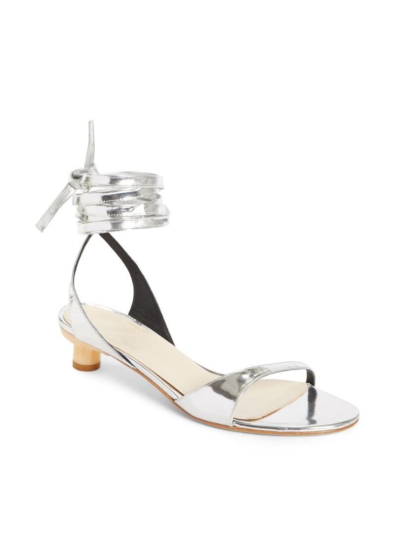 4a75e48d40d Tibi Scott Ankle Tie Sandal Women Shoes
