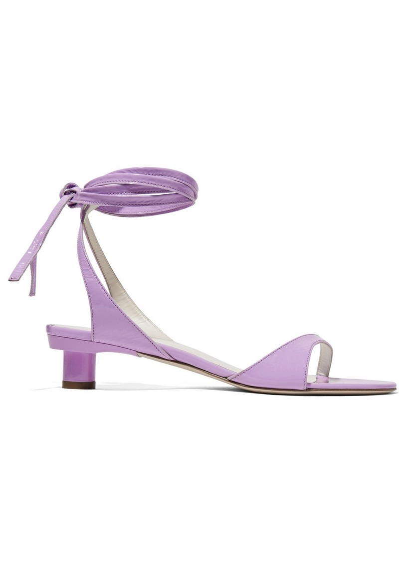 90356694d Tibi Scott crinkled patent-leather sandals