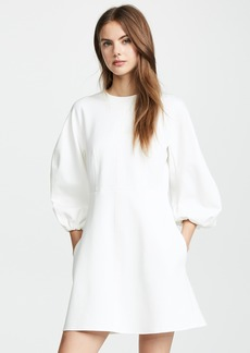 Tibi Sculpted Button Back Dress