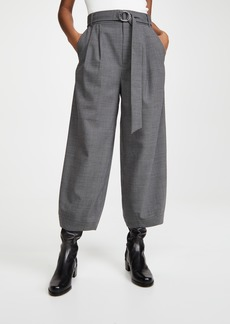 Tibi Sculpted Pants with Removable Belt