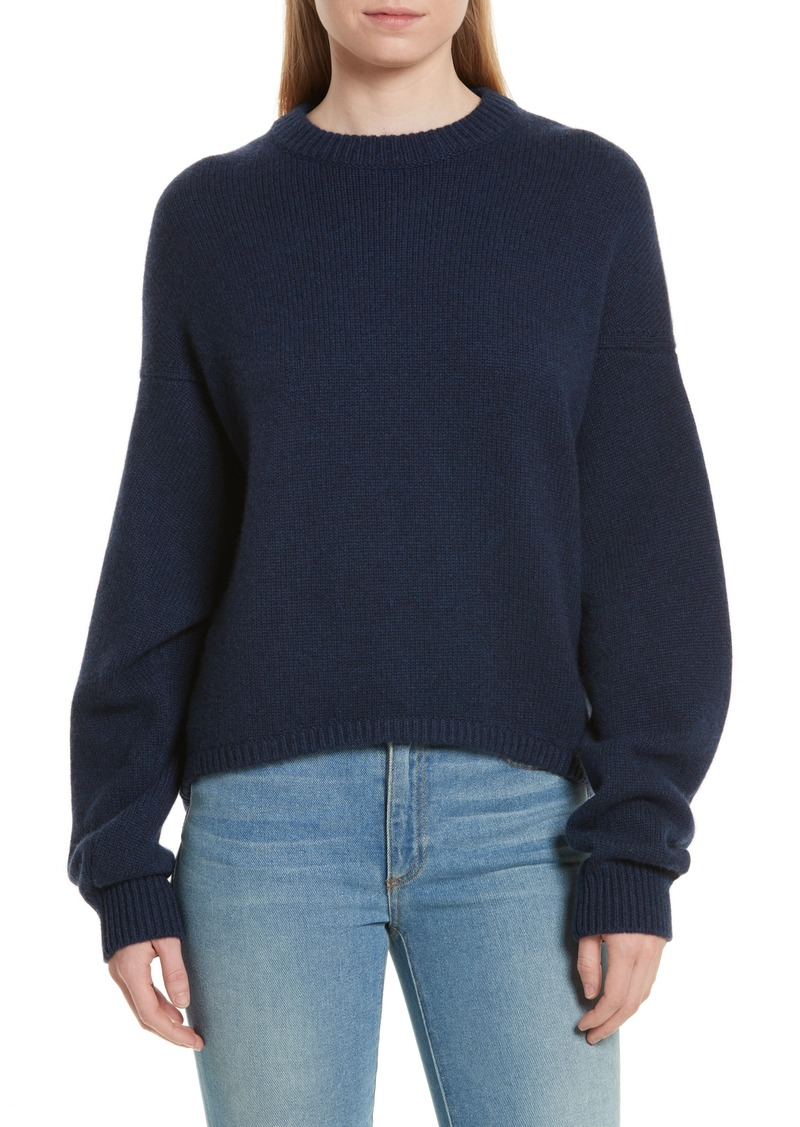 75e3c41ae01691 Tibi Tibi Sculpted Sleeve High/Low Cashmere Sweater | Sweaters