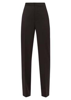 Tibi Sebastian high-rise crepe trousers