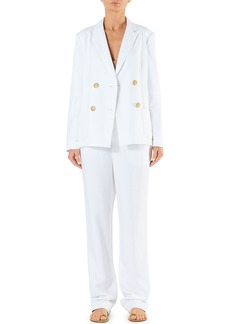 Tibi Sebastian Spring Suiting High-Rise Pants