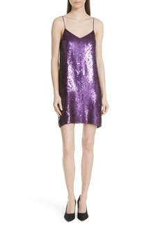 Tibi Sequin Slipdress