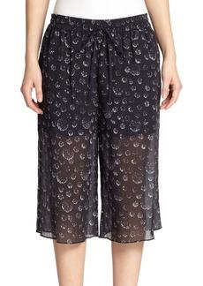 Tibi Shibori Dot Culottes