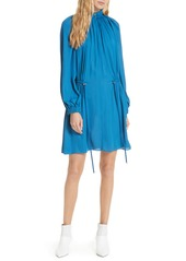 Tibi tibi side drawstring georgette dress abv3a895df2 a