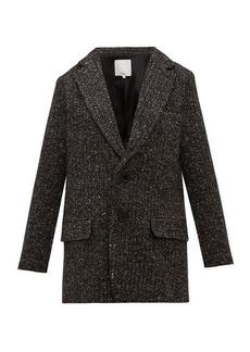 Tibi Single-breasted tweed blazer