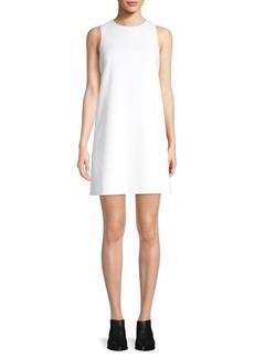 Tibi Sleeveless Structured Crepe Dress