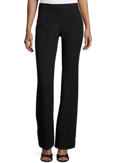 Tibi Slim-Fit Boot-Cut Pants