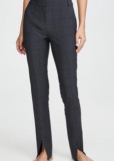 Tibi Slim Pants with Front Slit Detail