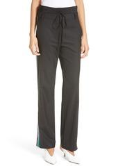 Tibi Slouchy Side Stripe Pants