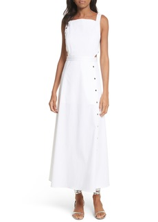 Tibi Crosby Snap Strappy Dress