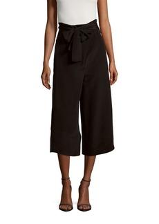 Tibi Solid Silk Culottes