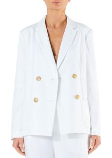 Tibi Spring Suiting Blazer with Slit Sleeves