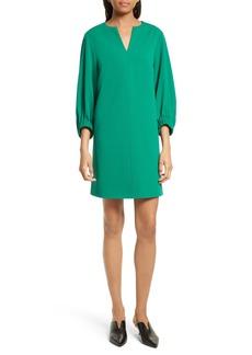Tibi Stretch Crepe Shift Dress