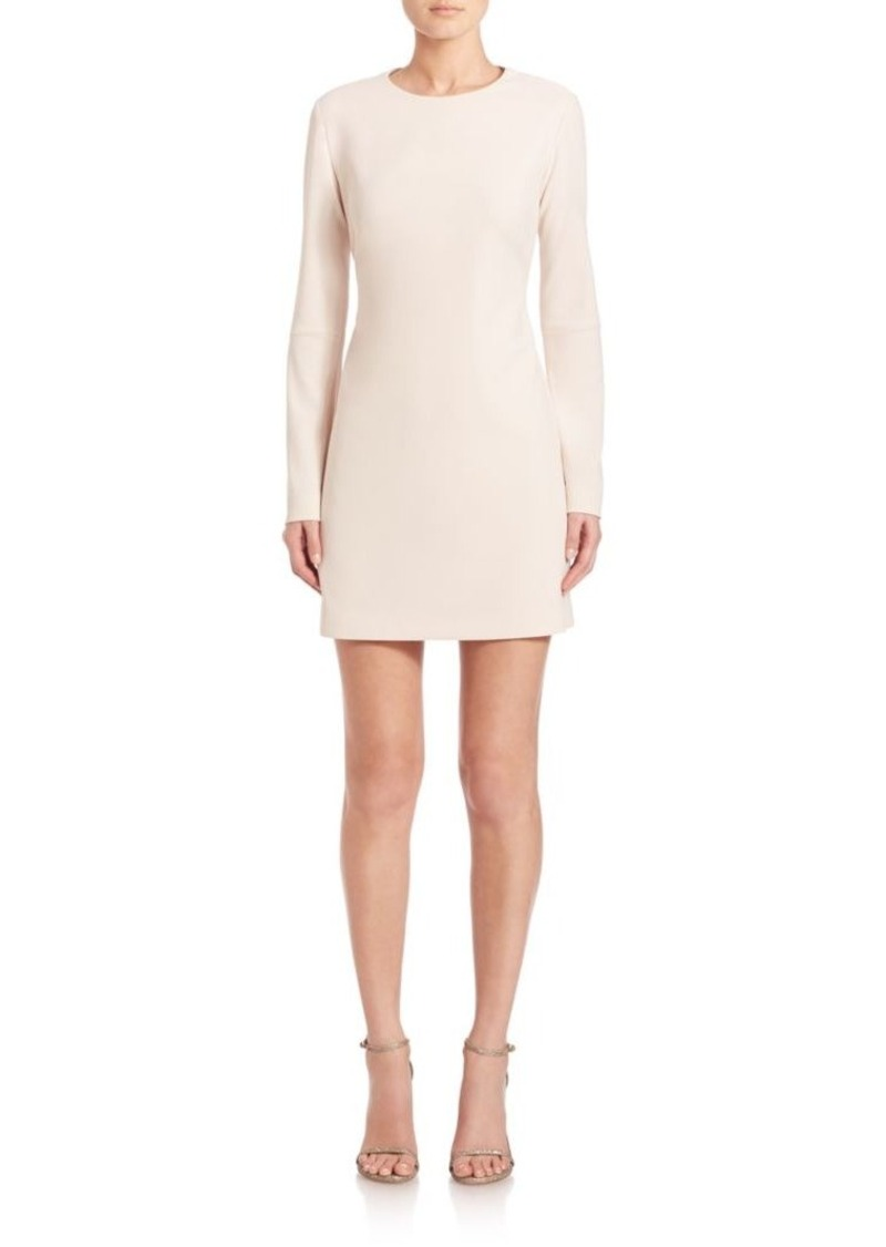 Tibi Structured Crepe Panel Dress