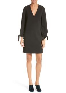 Tibi Structured Crepe Shift Dress