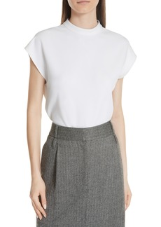 Tibi Structured Crepe Top