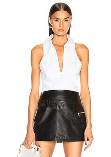 Tibi Structured Scuba Top