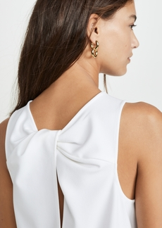 Tibi Tank with Twist Back Detail