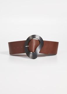 Tibi Thick Leather Belt